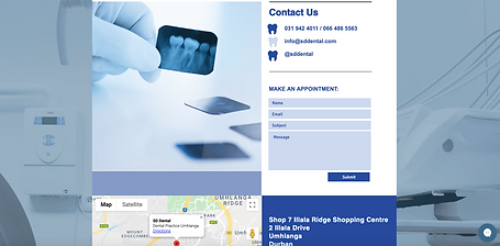 SD Dental Contact Page
