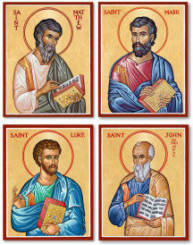 Evangelists - Mathew, Mark, Luke, John