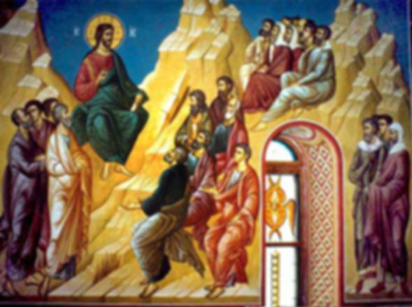 The Beatitudes at the Sermon of the Mount