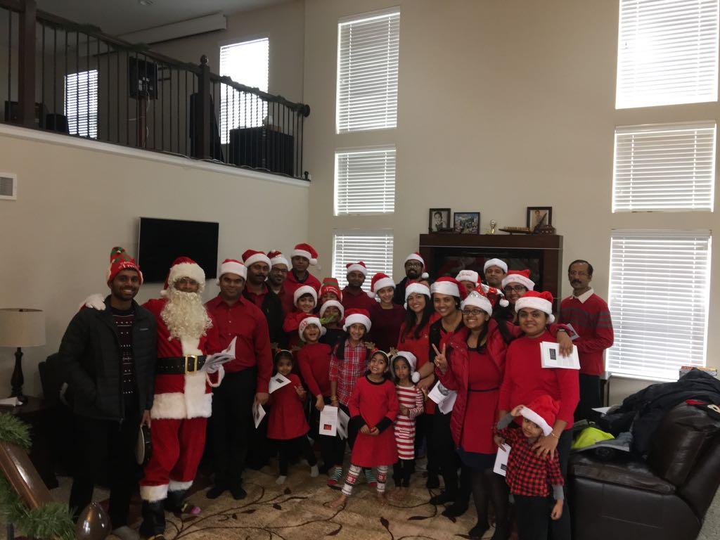Christmas Carol 2017 Home Visit