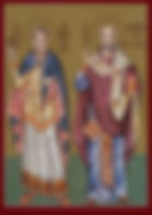 Saint  Pamphilus and Saint Eusebius