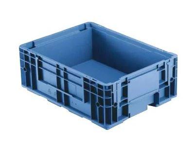 Caixa plástica fechada R-KLT 4315 - 10 litros