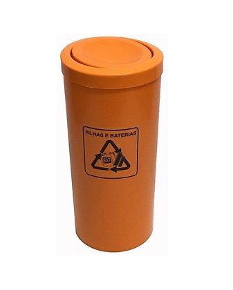 Coletor para pilhas e baterias - 23 litros