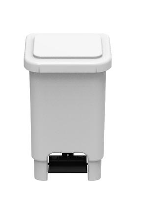 Lixeira retangular com pedal - 50 litros