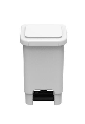 Lixeira retangular com pedal - 25 litros