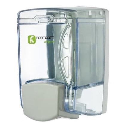 Dispenser saboneteira ABS reservatório transp. líquido/gel 400ml LICL400