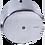 Thumbnail: Dispenser papel higiênico inox/epóxi rolão 400m