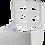 Thumbnail: Dispenser papel toalha ABS interfolhado Mazzo