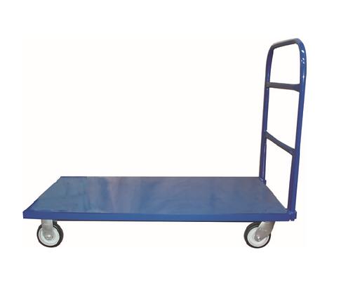 Carrinho de carga plataforma aço 500kg c/roda maciça - JB22