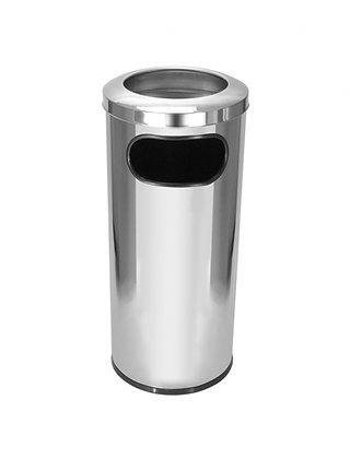 Cinzeiro aro inox - 50 litros