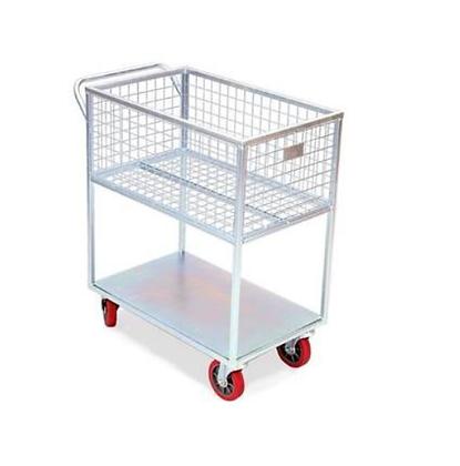 Carrinho de carga alto 300kg c/roda maciça - Abastecimento - JB49