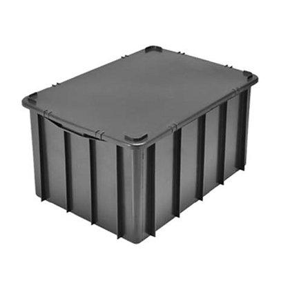 Caixa plástica fechada - 61 litros