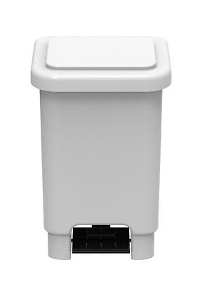Lixeira retangular com pedal - 100 litros