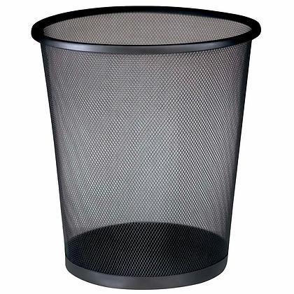 Lixeira em aço telado - 16 litros