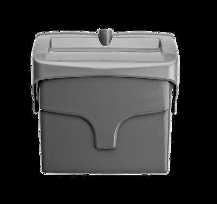 Pá de plástico com tampa - 9260