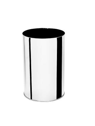 Lixeira inox sem tampa - 25 litros
