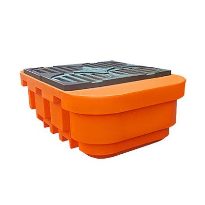 Pallet de contenção para IBC 4 tambores - 1000 litros