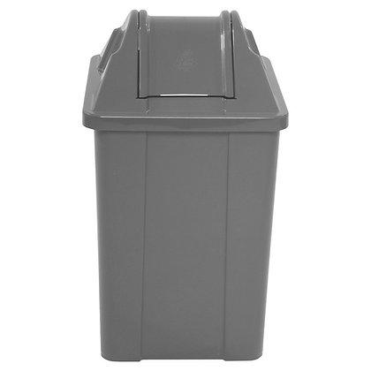 Lixeira quadrada com tampa basculante - 100 litros