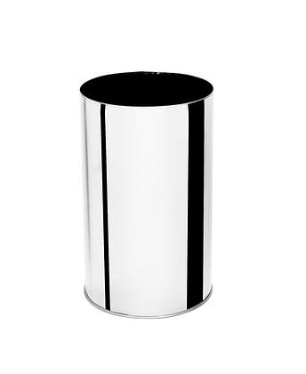 Lixeira inox sem tampa - 30 litros