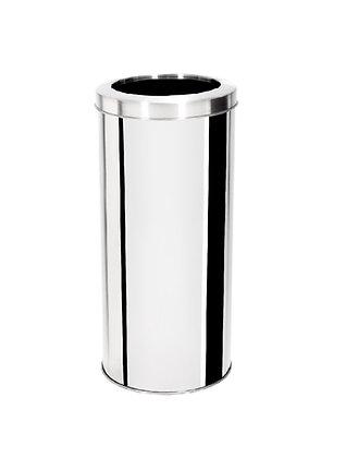 Lixeira inox com aro - 25 litros