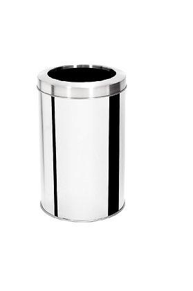 Lixeira inox com aro - 15 litros
