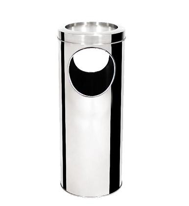 Cinzeiro aro inox - 30 litros