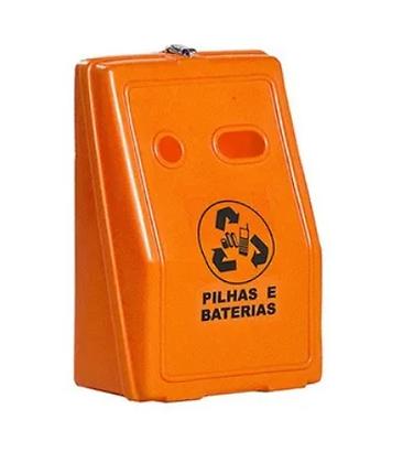 Coletor para pilhas e baterias - 30 litros