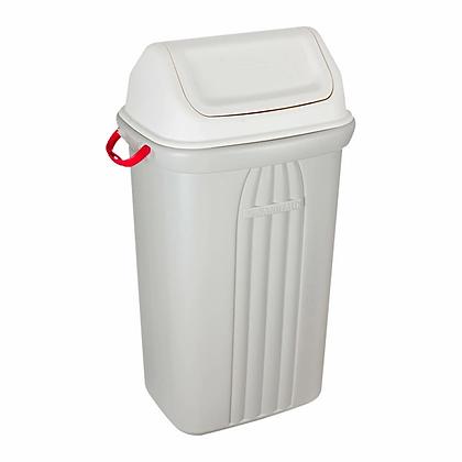 Cesto de lixo com tampa basculante - 105 litros