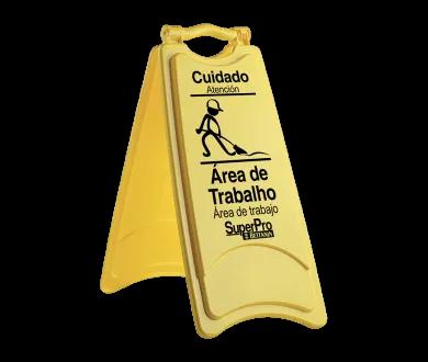 Placa sinalizadora (área de trabalho)