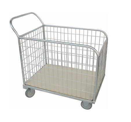 Carrinho de carga 300kg c/roda maciça - Abastecimento - JB32