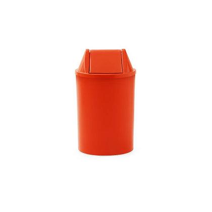 Cesto de lixo com tampa basculante - 15 litros