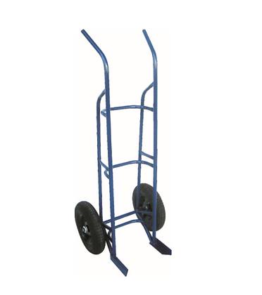 Carrinho de carga c/roda pneumática - transp. 3 ou 4 botijões P13 - JB11
