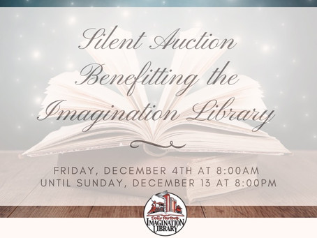 Silent Auction Benefiting the Imagination Library
