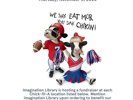 Imagination Library Day at Chick Fil A