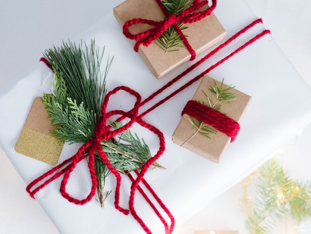 Mini Blog : Fresh Greens Christmas Wrap