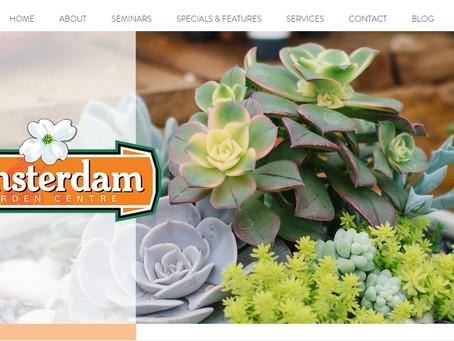 Amsterdam Garden Centres New Website & Blog