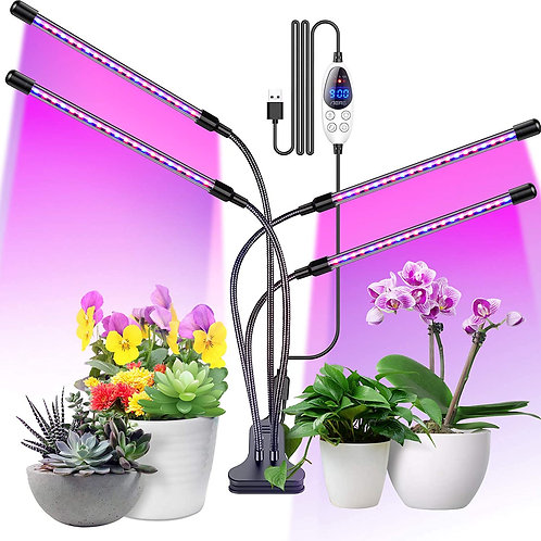 Aerb Plant Grow Lamp LED 4 Heads 80LEDs