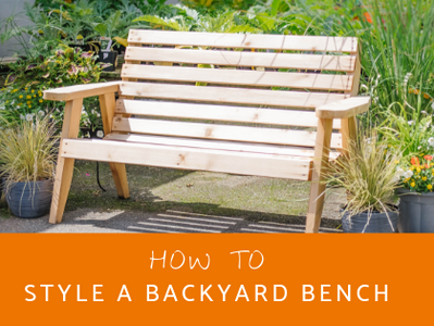 How To: Style a Bench