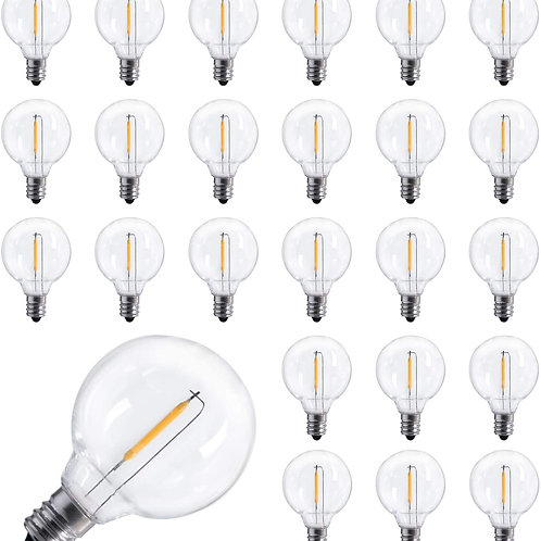 Aerb LED G40 Replacement Bulbs