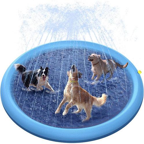 Peteast Splash Mat for Dogs 170cm
