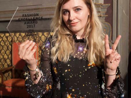 Spring-Up designers Dora Abodi and Carolina Ferioli win prizes at the Salon of Excellence, 2017, hel