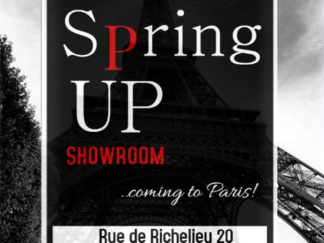Spring Up coming to Paris!!!
