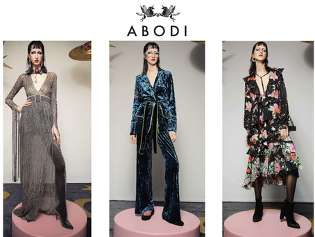Our lovely brand ABODI chosen for VOGUE Talents Italy!