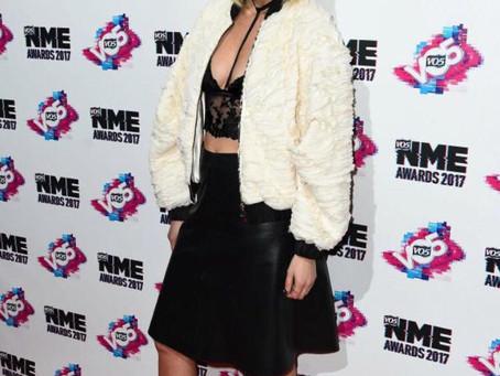 Ashley Roberts wearing ALLYN Cindy Pumps at NME awards