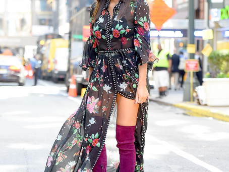 Olivia Munn wearing Abodi in NYC