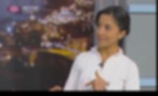 Catarina on TV