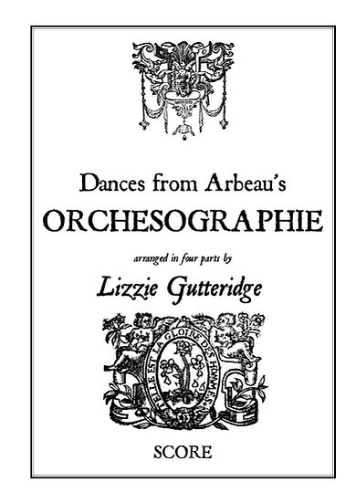 Book: Dances from Arbeau's Orchesographie (Score)
