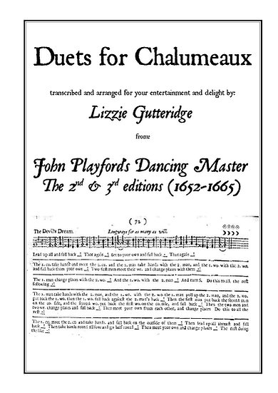 Book: Duets for Chalumeau