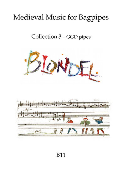 Book: Blondel Medieval Bagpipe Collection 3