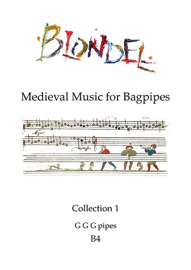 Book: Blondel Medieval Bagpipe Collection 1
